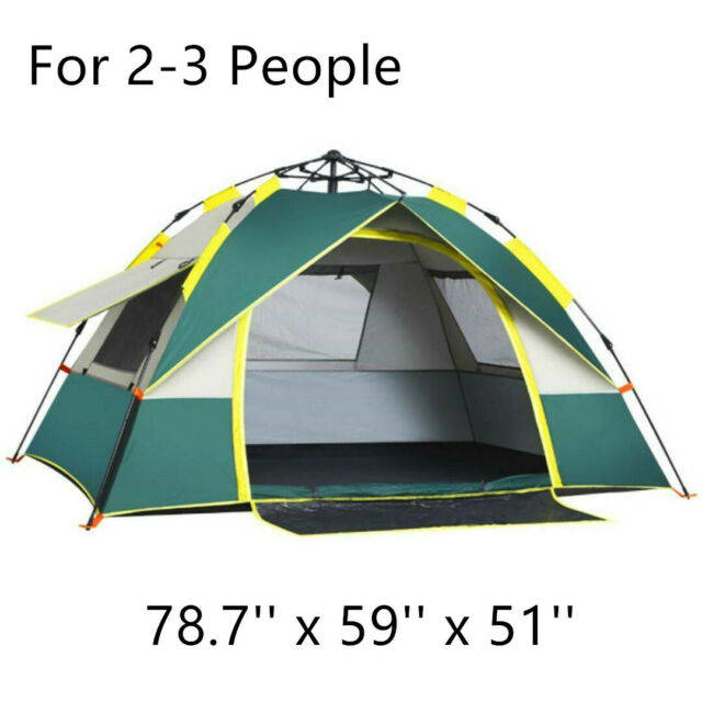 Night Cat Pop Up Tent 2 3 4 Man Camping Tent Waterproof Instant Automatic Easy