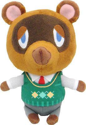 "New 7"" Tom Nook Plush Stuffed Doll Toy Little Buddy USA Animal Crossing New Leaf"