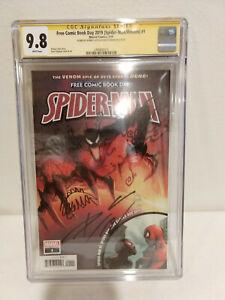 Spider-Man-Venom-1-CGC-9-8-SS-2X-Cates-amp-Stegman-Free-Comic-Book-Day