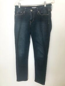 Levi-039-s-Denizen-Modern-Skinny-Jeans-Womens-Size-6-Stretch-Low-Rise-Dark-Wash