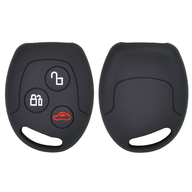 Xukey Silicone Key Remote Case For Ford Focus Mustang Escape Lincoln Cover Fob