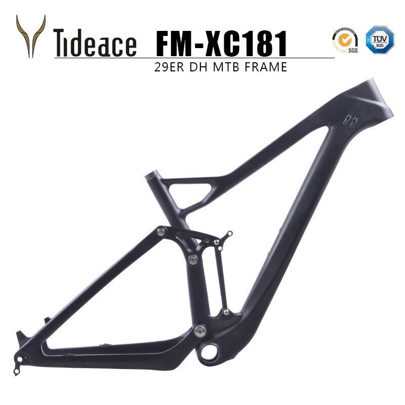 Twinloc con Suspensión Doble con montura de Cochebono 12148 Boost 27.5er Plus Cuadro para Bicicleta de montaña