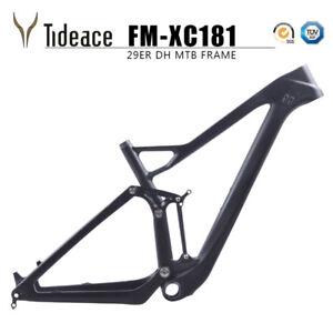 Full Suspension 27.5ER//29ER Mountain Bicycle Front Forks Thru Axle D Brakes OEM