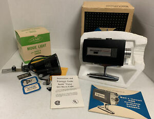 Bell & Howell Super 8 Movie Camera Model 430 Autoload & Movie Light See Desc.