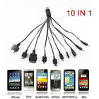10 in 1 Charger USB Cable for iPod Motorola Nokia Samsung LG Sony Ericsson K750