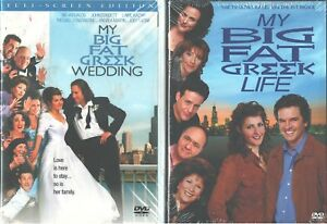 Details about MY BIG FAT GREEK WEDDING & LIFE: Double w/ Movie+TV  Series-Full Screen- NEW DVD