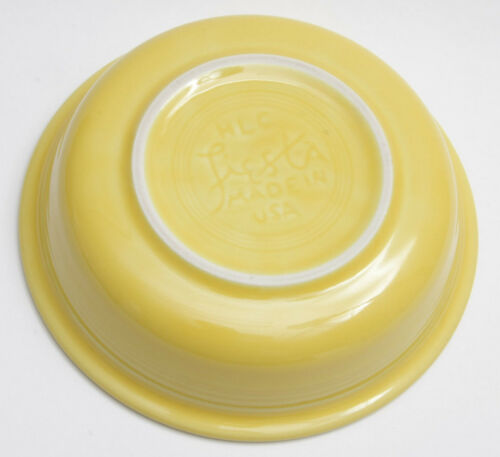 "Cereal Fiesta Bowl E04 Yellow 6/"" Bowl 7/"" Diameter NEW Old Stock Soup"
