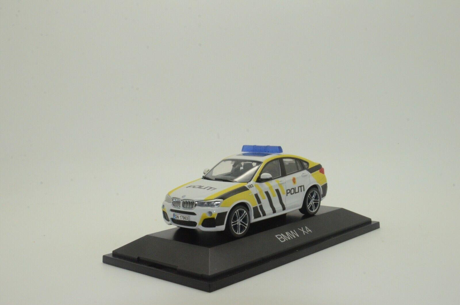 Raro  BMW X4 Noruega Koek policía Hecho a Medida 1 43