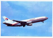 MALAYSIA Airlines Douglas DC-10 Postcard