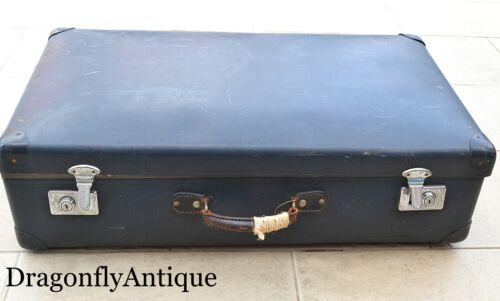 Genuine Globetrotter grande valise vintage 1950 S Trunk Travel stickers