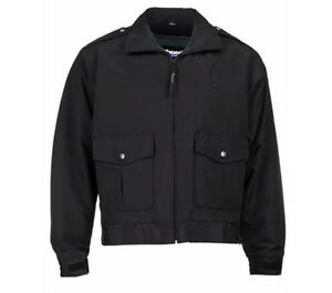 low priced 710fd b9ae9 Details about Blauer 6120 3-Season Bomber Jacket B.DRY Fabric Black Uniform  Security Police XL