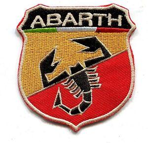 ABARTH Automobiles Turin Italie écusson 7x6.5 cm
