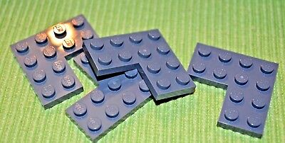 4x4 Dark Gray Round Plate Bricks ~ Lego ~ NEW Castle 4