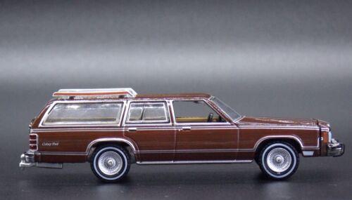 1980 MERCURY GRAND MARQUIS COLONY PARK 1:64 Die Cast Wagon Car #A65