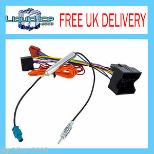 cc20 cd30 cd70 vauxhall radio cd stereo wiring iso lead harness rh ebay co uk  vauxhall radio wiring diagram