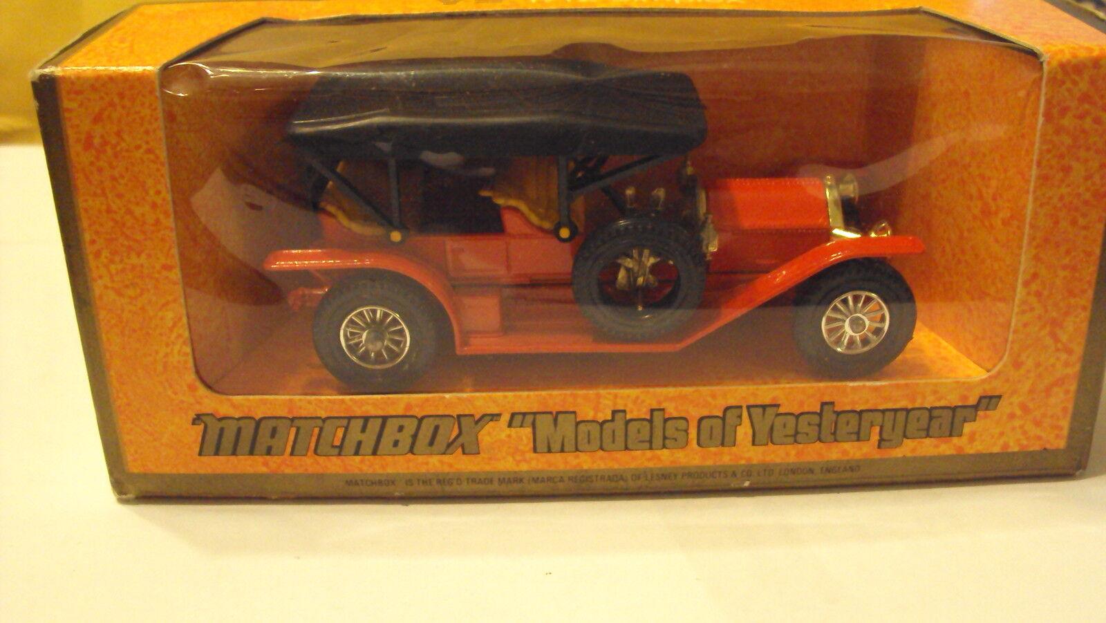 Matchbox models of yesteryear Y-9 SIMPLEX MOY Near Comme neuf