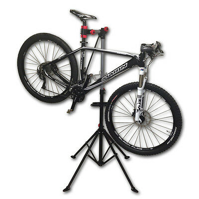 Pro Mechanic Adjustable Bike Repair Stand w/ Telescopic Arm Cycle Bicycle Rack