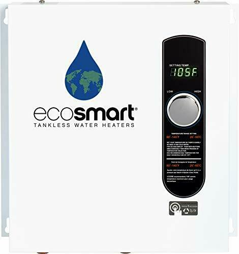 White EcoSmart ECO 27 Electric Tankless Water Heater