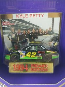Kyle-Petty-42-NASCAR-Brickyard-400-Racing-Champions-Limited-Edition-1-64-Scale