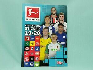 Topps-Bundesliga-Sticker-2019-2020-Sammelalbum-Album-Leeralbum-19-20