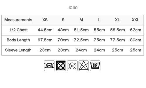Herren Cool Urban Sport T-Shirt UV-Schutz meliert Gr.XS-XXL in 5 Farben JC110