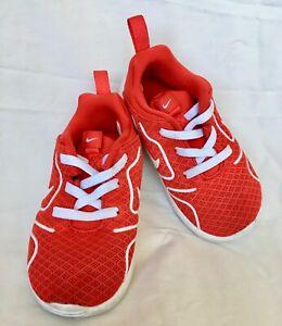 Con rapidez Residente Enredo  Zapatillas nike niño bebé Athletic Rojo Elástico Con Cordones 7c ...