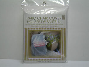 New Clear Plastic Outdoor Patio Chair Cover 33 Quot X27 Quot X34 Quot