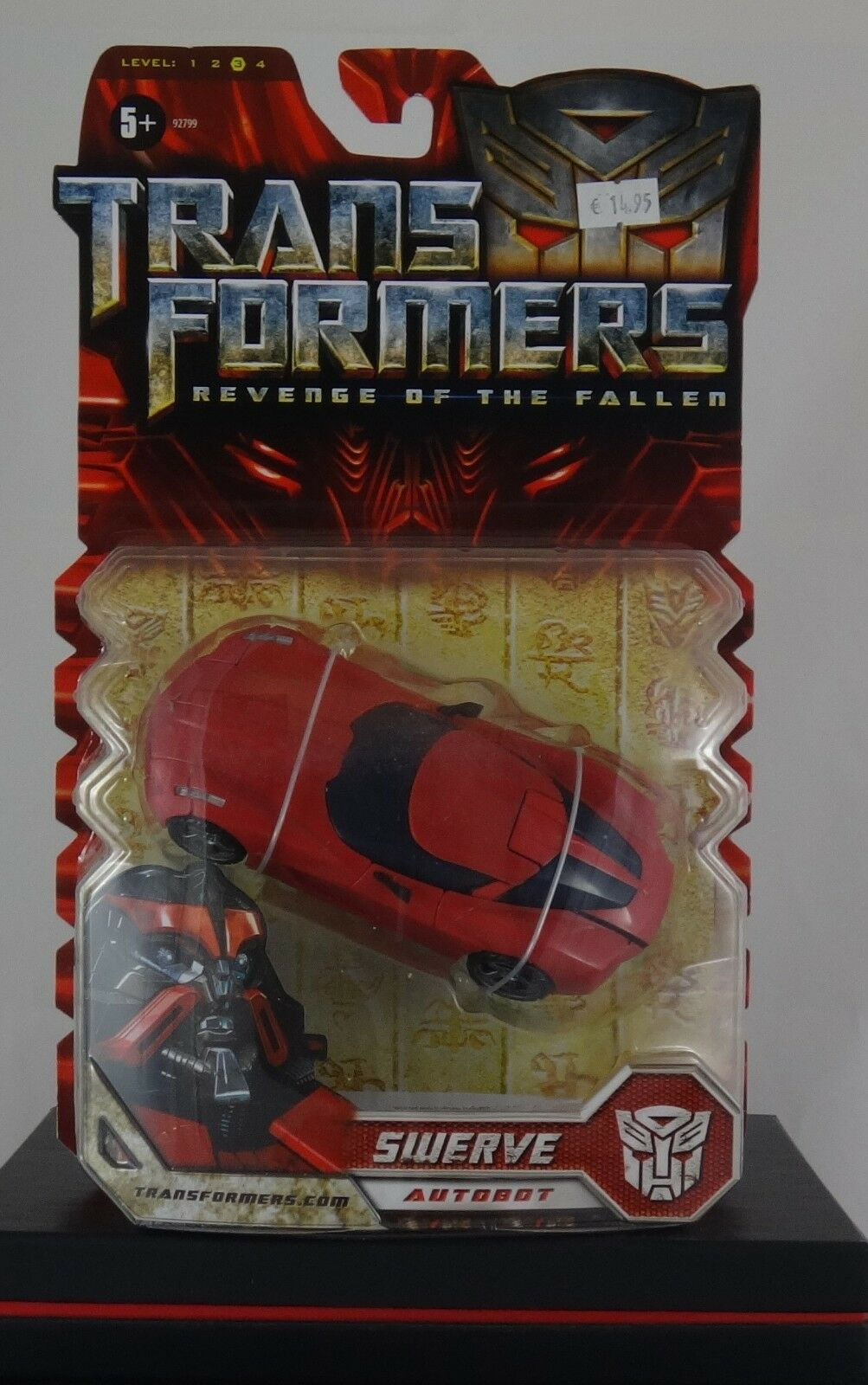 Hasbro Transformers Revenge of the Fallen Deluxe Swerve (92799,2009), Neu, OVP