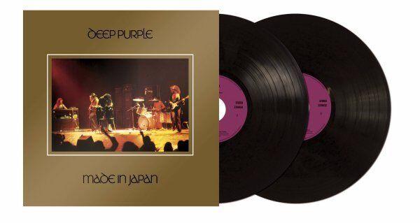 LP Deep Purple Made in Japan doppio Vinile