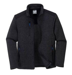 PORTWEST T830 Venture Fleece Soft Durable Reinforced Panels Zip Pockets