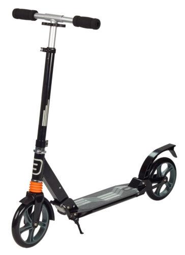 bis 100Kg klappbar City Scooter Fully 200mm gefedert vorne und hinten