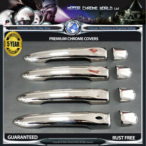 FITS-TO-RENAULT-MEGANE-CHROME-DOOR-HANDLE-COVERS-5Y-GUARANTEE-2010-2015-OFFER