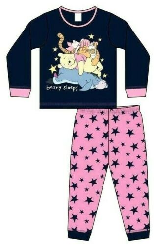 Baby Girls Pyjamas Pjs Nightwear Disneys Winnie the Pooh Toddlers 6-24 Months