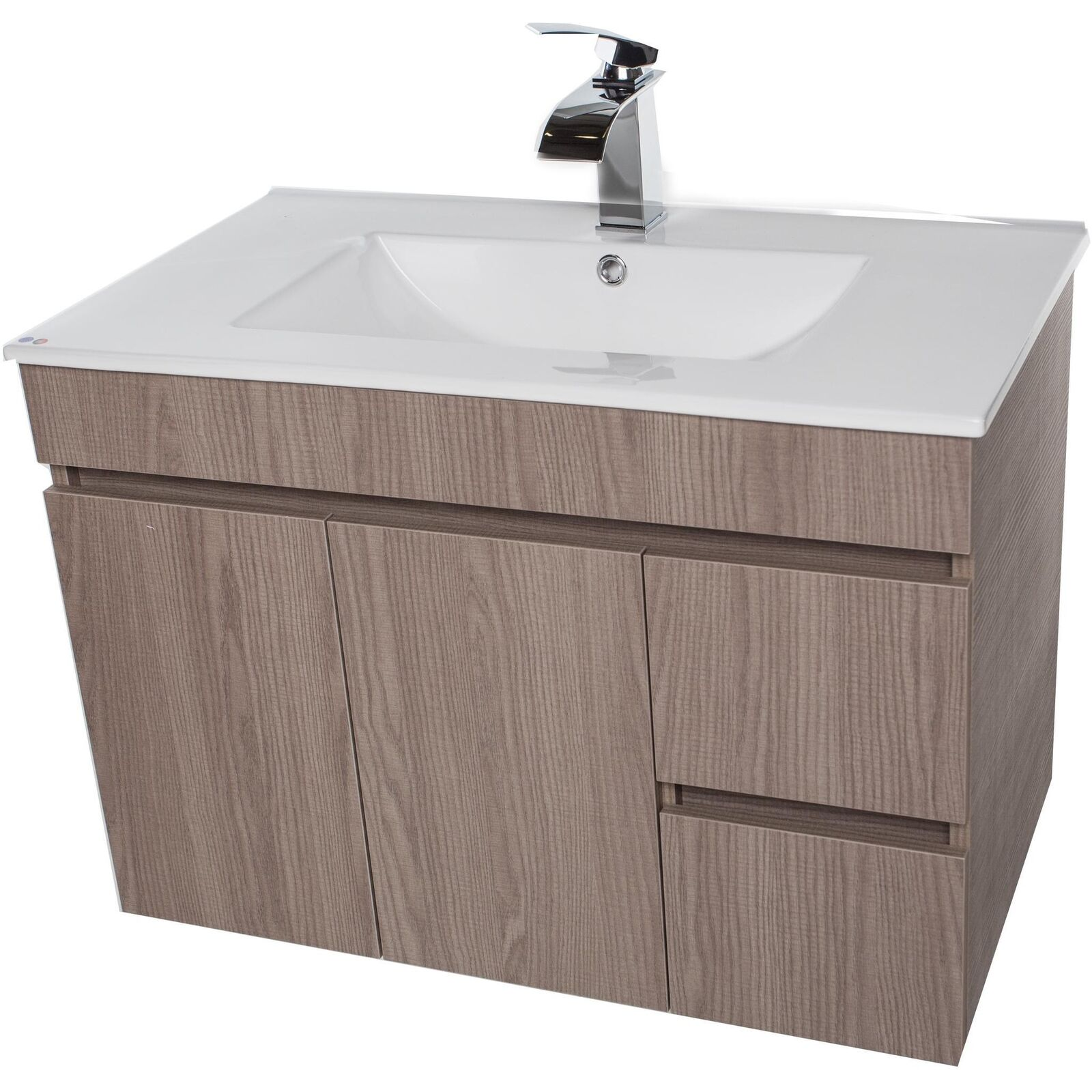 Wall Mount Bath Vanity.Strato Wall Mounted Bathroom Vanity Cabinet Set Bath Furniture With Single Sink