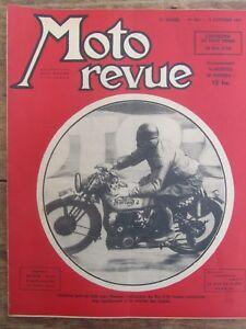 Ancienne Revue Moto Revue N° 901 Octobre 1947 Lefevre 500 Norton Bol D'or