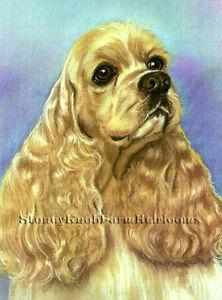 Cross Stitch Chart English Cocker Spaniel Puppies