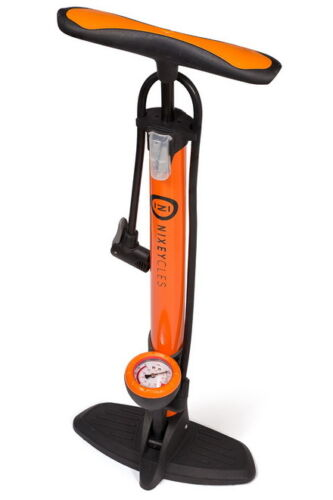 NXP38 Genuine NIXEYCLES High Pressure Bicycle Bike Alloy Floor Air Pump Gauge