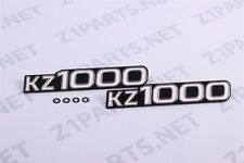 Kawasaki KZ1000 Side Cover Emblems