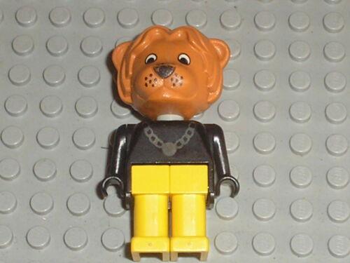 Figurine Lion LEGO FABULAND figure minifig ref x594c02 sets 3644 /& 3645