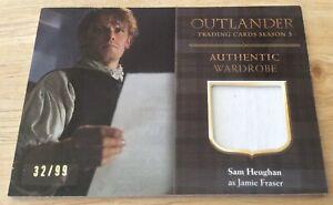 Details about 2018 Outlander Season 3 Jamie Fraser Sam Heughan Wardrobe  Card 32/99