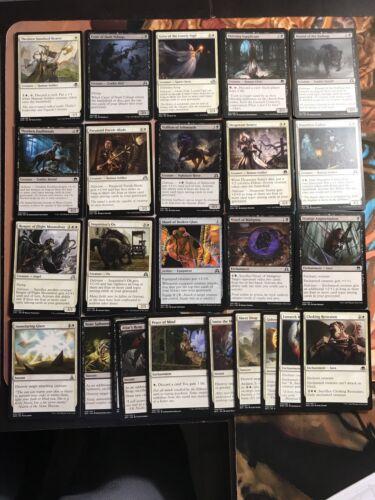 MTG Black /& White Delirium Modern Deck 40 Cards No Lands w// Control /& Support