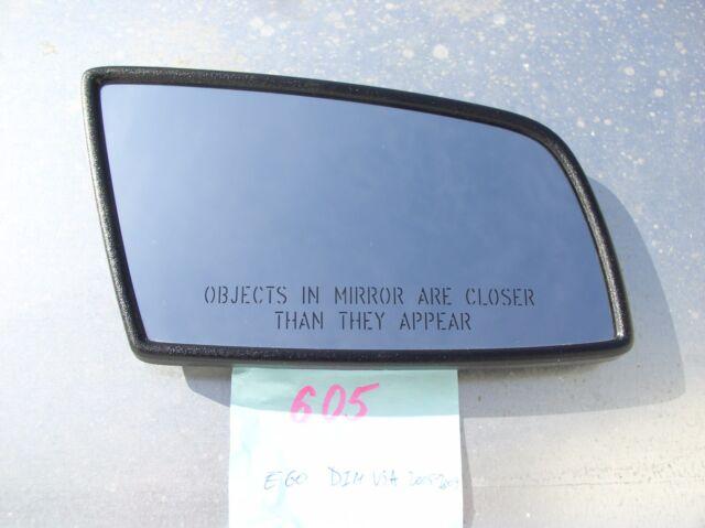 RIGHT SIDE OEM BMW 5//6//7//GT F01//F06//F07//F10//F18//E60 Auto DIM HEATED MIRROR GLASS
