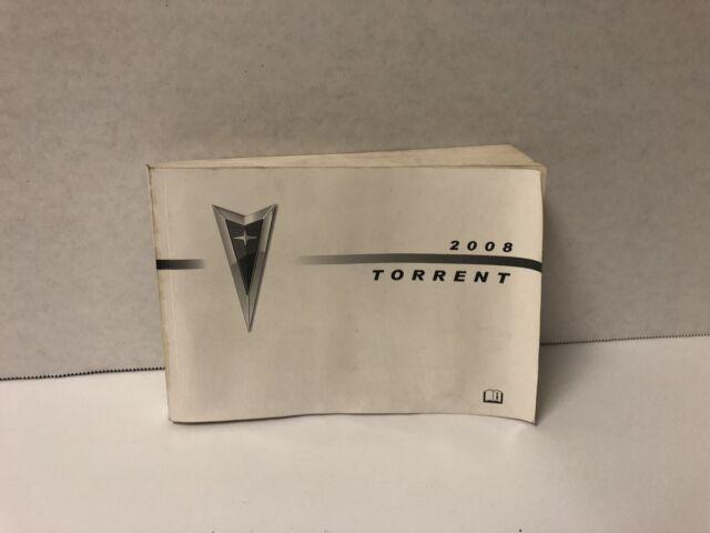 2008 Pontiac Torrent Owners Manual