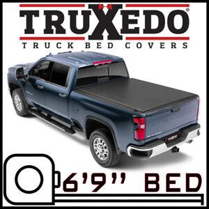 """TruXedo Lo Pro Tonneau Bed Cover fits 2020-2021 Sierra 2500 3500 HD 6' 9"""" BED"""