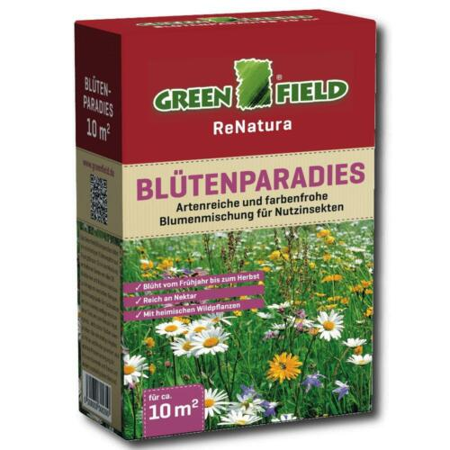 Greenfield fiori Paradiso 250g fiori miscela piante selvatiche nettare 10 m²