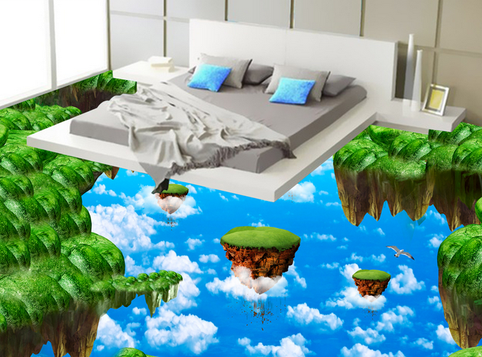 3D Die Insel 67 Fototapeten Wandbild Fototapete Tapete Familie DE Lemon