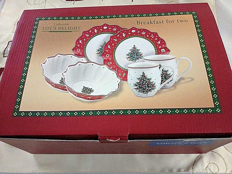 Villeroy /& Boch Christmas Toys Toy/'s Delight  Teller Set 8tlg