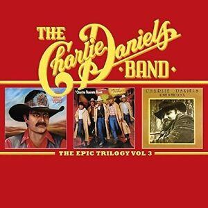 Charlie-Daniels-Epic-Trilogy-3-New-CD-UK-Import