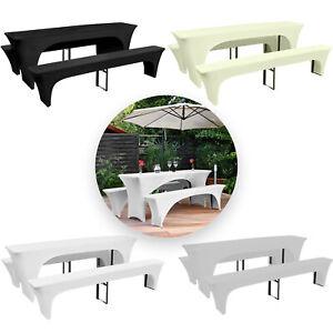 3-X-7-Ft-environ-2-13-m-rectangulaire-Nappe-Spandex-Lycra-Biere-Table-De-Fete-Table-et-Banc-Covers