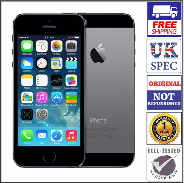 77ce99c14 Apple iPhone 5S (ME432B/A) 16GB (Unlocked) GSM Smartphone - Space ...